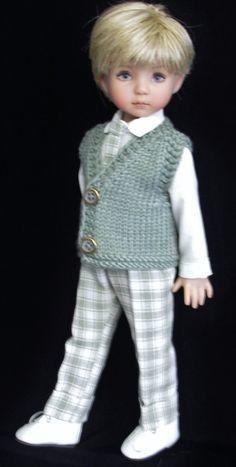 muñeca para Chaleco de niño Disfraz gris cTFJK1l3
