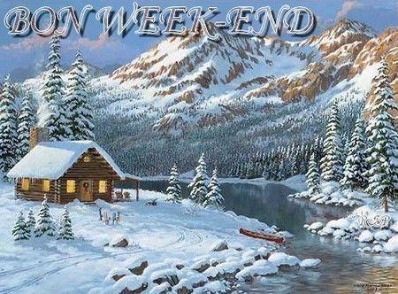 Bon week-end - Paysage hiver