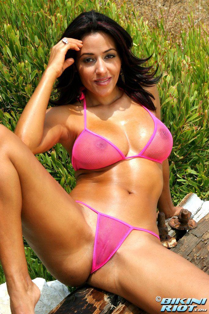 Belle Fille En Bikini Sexy Banque D'Images, Vecteurs Et