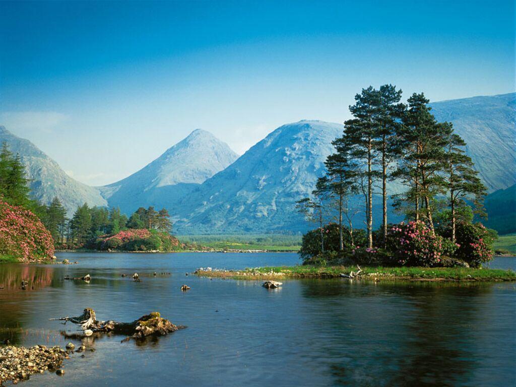Paysage - Montagne et Lac