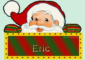 Prénom Éric - Père Noël