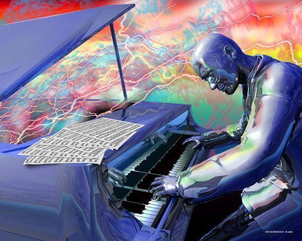 Musique - Robot du futur