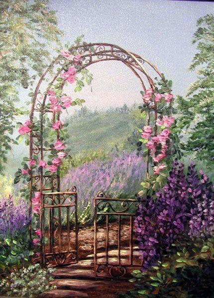 fleurs jardinage arche d 39 entr e au jardin. Black Bedroom Furniture Sets. Home Design Ideas